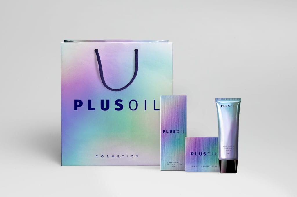 Дизайн упаковки PLUSOIL cosmetics