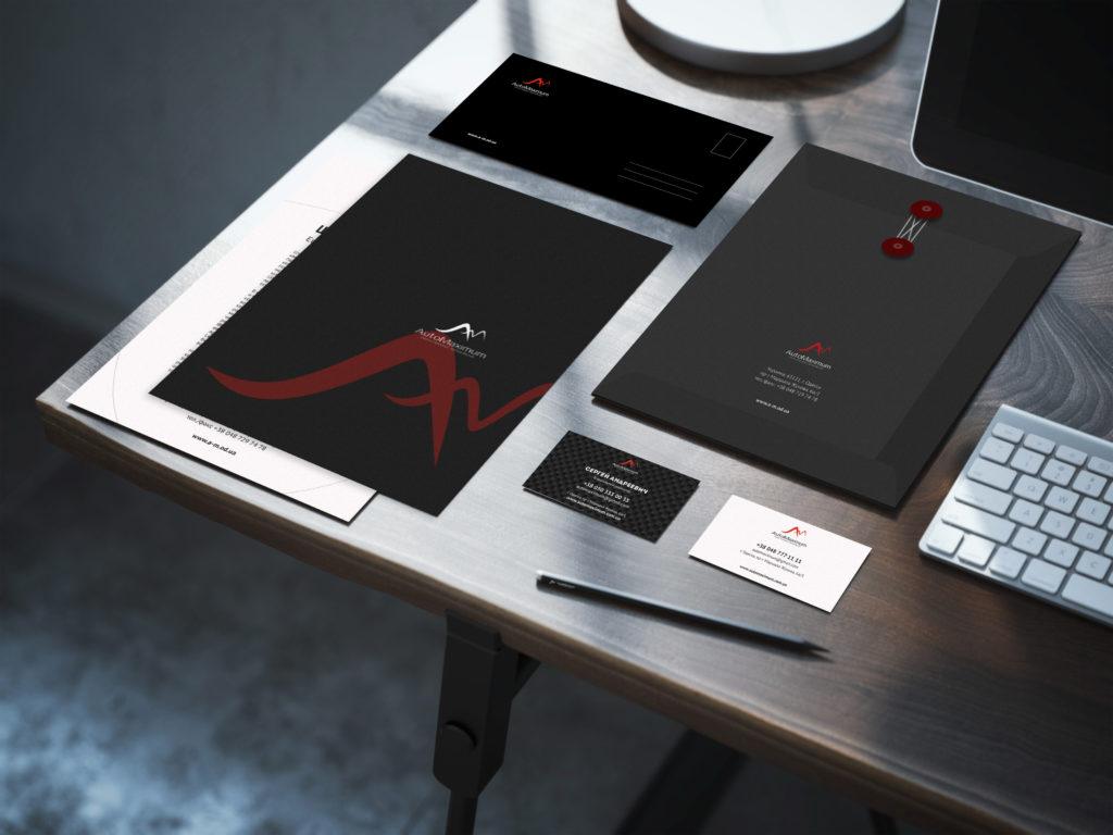 АвтоМаксимум, Разработка логотипа и полное брендирование